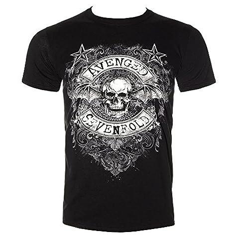 Avenged Sevenfold - Stars Flourish T-Shirt - Small