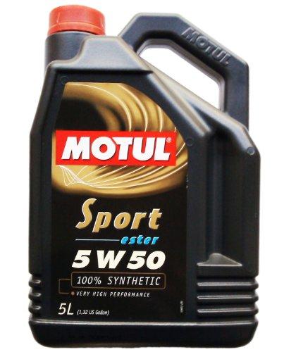 1x 5 Liter MOTUL Sport 5w50 ester 100% vollsynthetisch