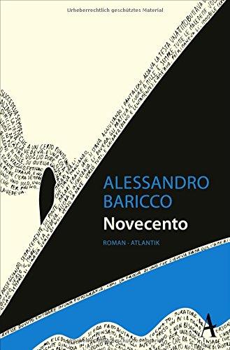 Buchseite und Rezensionen zu 'Novecento' von Alessandro Baricco