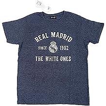 7e97dfd37970f Camiseta Real Madrid adulto gris vigore THE WHITE ONES  AB3908