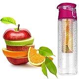 Best Botellas de infusión de frutas Deportes - bescita 800ml portátil frutas infusión Infusing Infuser botella Review