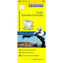 Michelin FRANCE Aude, Pyr??n??es-Orientales Map 344 (Maps/Local (Michelin)) by Michelin Travel & Lifestyle (2016-04-07)