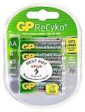 GP Batterien gp210aahcb-c4Akku NiMH ReCyko AA 2000mAh 4Pack [Pack Größe: 4] Pro-Serie (steht überprüft)