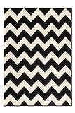 Lalee Teppich Wohnzimmer modern Carpet geometrisches Design Rug Manolya 2095 Schwarz 160x230cm | Teppiche günstig online kaufen