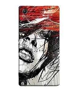 Fuson Designer Back Case Cover for Sony Xperia C6 Ultra Dual (lotus sunflower rangoli artwork)