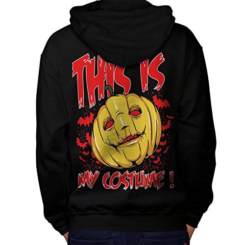 Halloween Kostüm Horror Herren S Kapuzenpullover Zurück | (Kostüme Themen Religion)