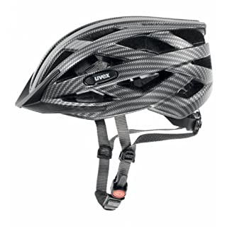 Uvex Erwachsene I-VO CC Fahrradhelm, Black Carbon Look mat, 56-60 cm