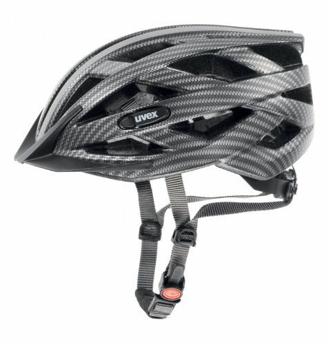Uvex Erwachsene Fahrradhelm I-VO CC, Black Carbon Look Mat, 56-60, 4104200717