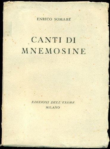 Canti di Mnemosine