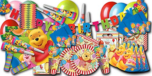 burtstag Partyset XXL - Partygeschirr & Partydeko im Sparset ()