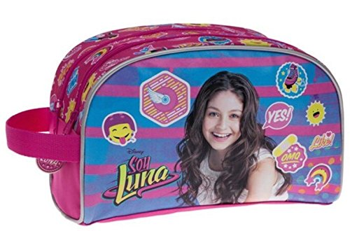 Neceser doble compartimento adaptable a trolley Yo soy Luna