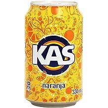 Kas refresco de Zumo de Naranja - 33 cl