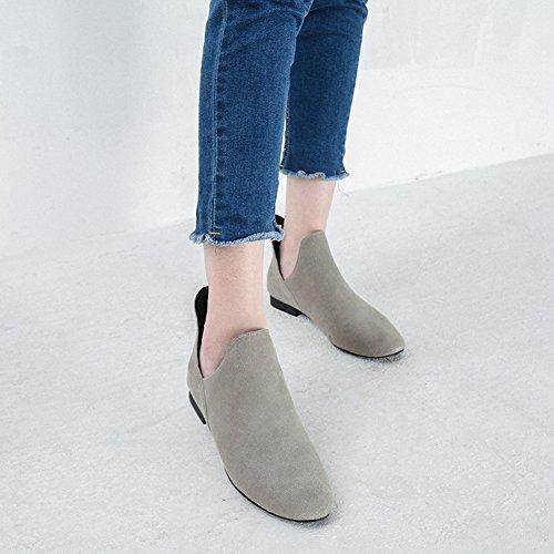 XTIAN , chaussons d'intérieur femme Gris
