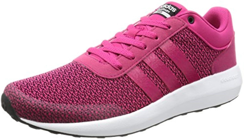 Adidas Cloudfoam Race W, Zapatilla de Deporte Baja del Cuello para Mujer, Rosa (Rosfue/Rosfue/Ftwbla), 41 EU