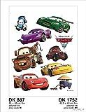 AG Design Wand Sticker DK 1752 Disney Cars