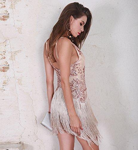 Missord -  Vestito  - Sera  - Senza maniche  - Donna Rose Gold