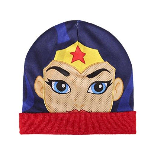 Characters Cartoons - Gorro - para niño Wonder Woman Talla única