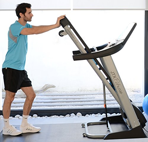 51umzB6PRdL - JTX Sprint-7: High Performance 20KPH Home Treadmill with Large Shock Absorbing Running Deck