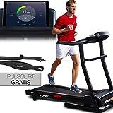 Sportstech F26 Profi Laufband mit Smartphone App Steuerung Pulsgurt im Wert von 39,90 € inklusive - MP3 AUX Bluetooth 4 PS 16 km/h HRC...