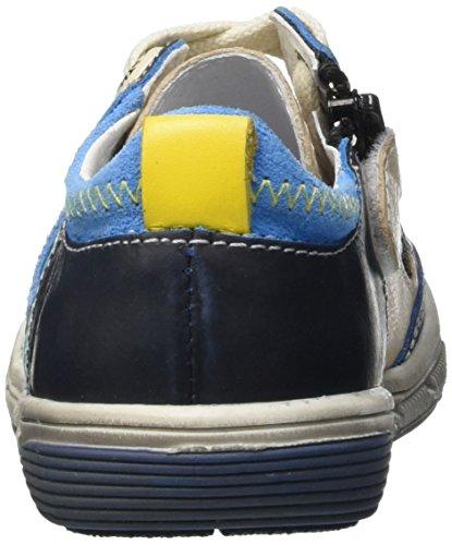 Catimini Carambole, Baskets Basses Garçon Bleu (12 Vtc Bleu/Beige Dpf/Sirio)