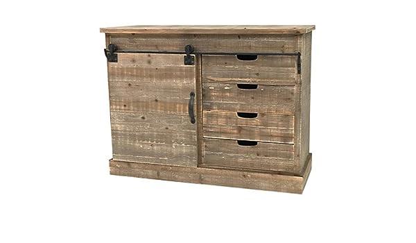 Credenza Per Casa Di Campagna : Credenza console cassettiera mobile di cucina legno campagna