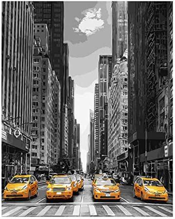 OKOUNOKO Puzzles 1000 Pièces pour Adultes 3D Ville Moderne De De De Voiture Paysage d'art De Bricolage Image Cadeau Coloré Unique Personnalisation L'Assemblée Bois Puzzle Amusant | Une Forte Résistance à Chaleur Et Résistant  9d535c