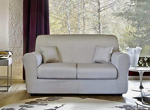 Arredo home divano ischia artigianale sfoderabile 2 posti misure 134x88x77 cm