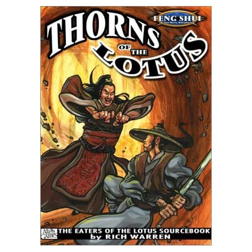 Thorns of the Lotus (Feng Shui) by Rich Warren (2003-02-24)