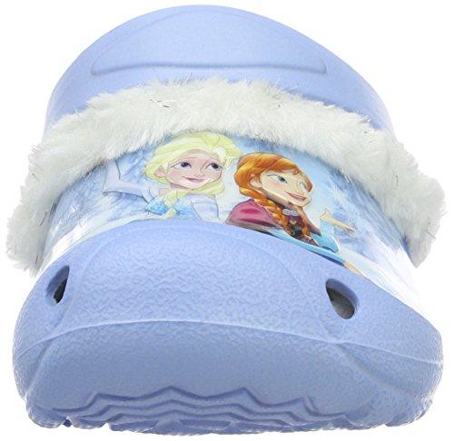 Die Eiskönigin Girls Kids Clog Sandals and Mules, Zoccoli Bambina Blu (Blau (LBL/Wht MUL 057))