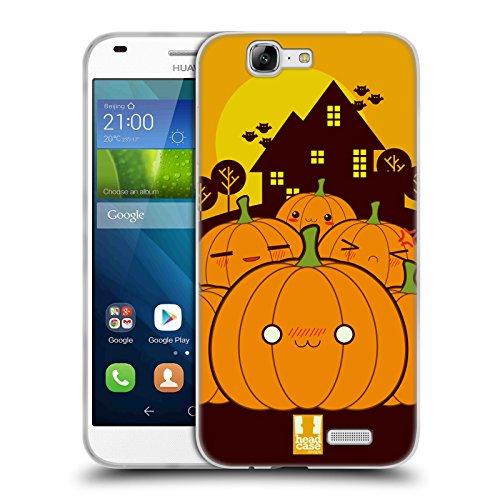 �rbis Im Ganzen Halloween Kawaii Soft Gel Hülle für Huawei Ascend G7 (Einfache Kürbis-halloween-designs)