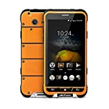 Ulefone Armor 4.7 inch Waterproof IP68 4G Smartphone Android 6.0 MT6753 Octa Core 1.3GHz Mobile Phone 3GB RAM +32GB ROM Slim Body, Rugged Phone for Outdoor Sport (Orange)