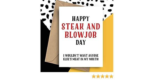 Can not steak blowjob online card