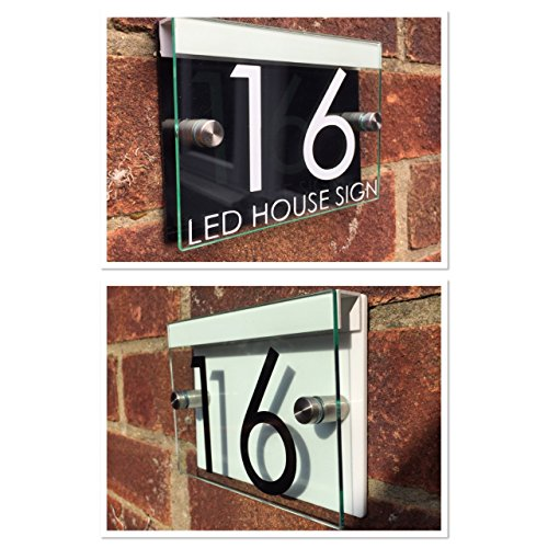 rue-plaque-maison-numro-de-porte-en-verre-moderne-en-acrylique-noir-blanc-led-support