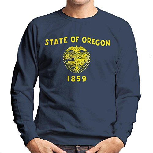 Coto7 Oregon State Flag Men's Sweatshirt