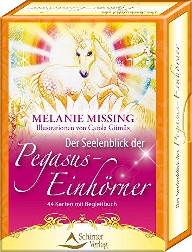 Der Seelenblick der Pegasus-Einhörner: 44 Karten mit - Einhorn-karten
