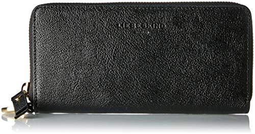 Liebeskind Berlin Damen Posallyw8 Pouch Geldbörse, Schwarz (Black), 2.0x10.0x19.0 cm (Schwarz Glitter Geldbörse)