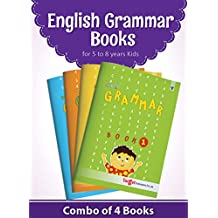 Nurture English Grammar Books for 5 to 8 year Kids (4 Books)