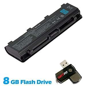 Battpit Batterie d'ordinateur Portable de Remplacement pour Toshiba Satellite L850-1VQ (4400 mah) Avec Clé USB 8 Go GRATUIT
