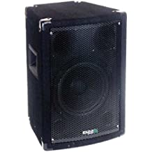 Ibiza DISCO8B - Altavoz de suelo de 300 W, negro