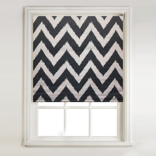 chevron-charcoal-thermal-blackout-roller-blind-width-122cm4ft-length-66inchapprox