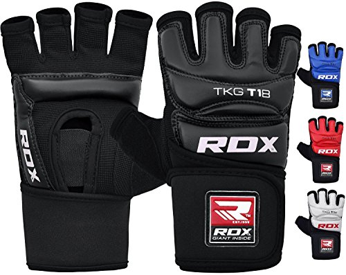 RDX Taekwondo Gloves WTF Training Martial Arts Boxing Sparring TKD Punch Bag Mitts MMA Grappling Karate Fighting
