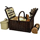 Best Picnic at Ascot Picnic Blankets - Picnic at Ascot Buckingham Basket for 4 Review