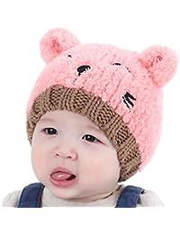 Enfants Bébé Chapeaux Hiver, Reaso Bonnet Love Broderie Beanie pour Garçons  Filles ... 404aeee50e1