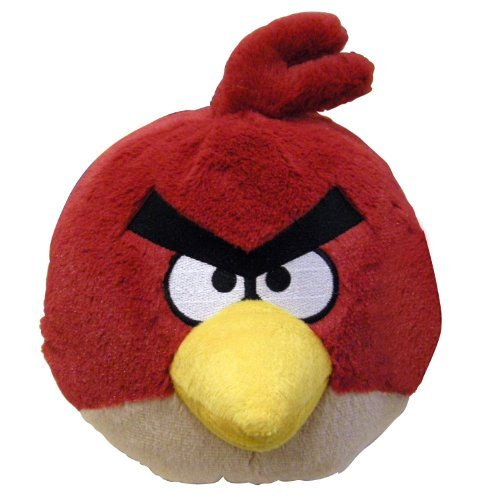 Angry Birds - Red Bird Plush - with Sound - 20cm 8""
