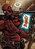 Marvel Comics Metal Poster Deadpool Covers Outta The Way Nerd 10 x 14 cm Posters