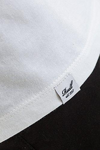 Reell T-Shirt Small Script T-Shirt Artikel-Nr.1301-009 - 03-006 White