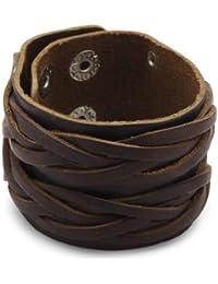 Cored Q068 Mens' Bracelet Leather