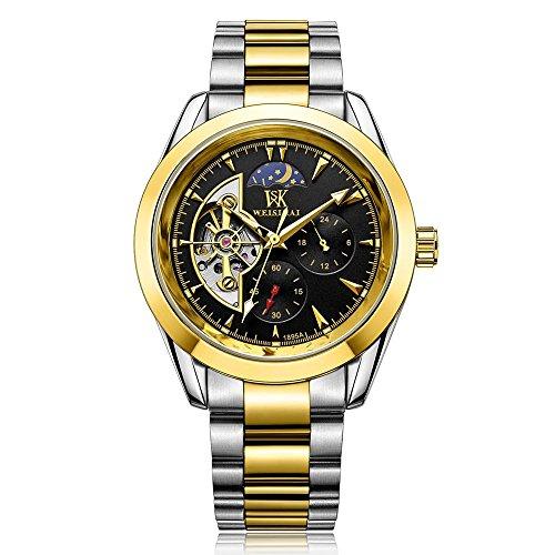 round-hollow-luminous-automatic-mechanical-watch-black-gold