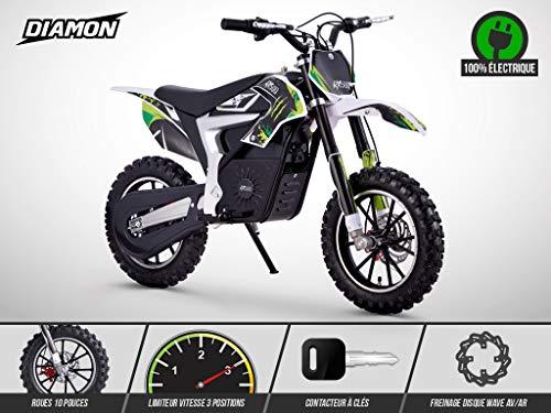 MOTO GANTS ENFANTS VERTS WULF STRATOS ENDURO MTB ATV BMX V/ÉLO PROTECTION DES MAINS 2XS