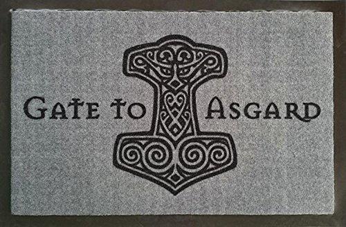 Felpudos Música Gate to Asgard Felpudo (Felpudo Felpudo, limpiabarros